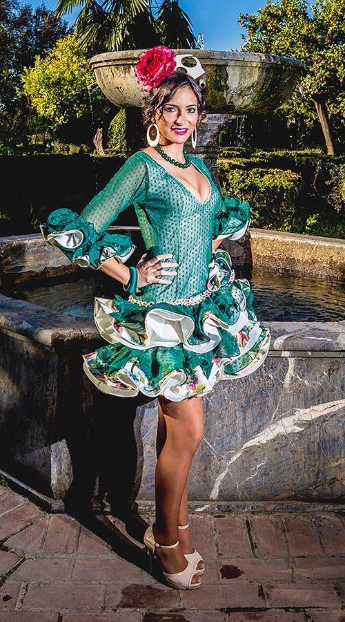 Diseño traje de flamenca Colección 2016 - Confecciones MariPili