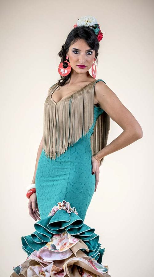 Diseño traje de flamenca Colección 2017 - Confecciones MariPili